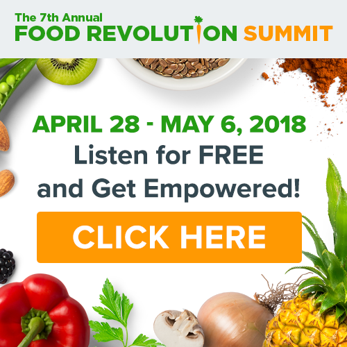 FREE Online Food Revolution Summit 2018