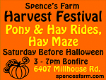 Spence's Farm Harvest Festival Oct. 26 2019